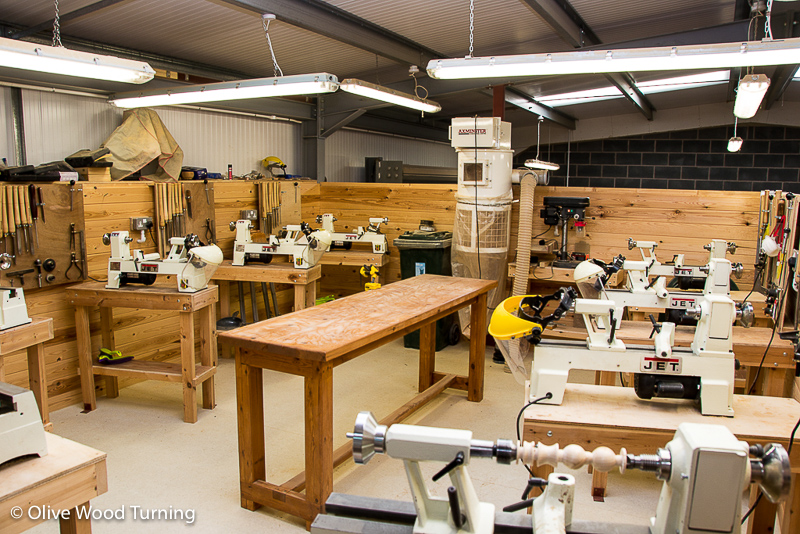 Workshop layout in Lytham