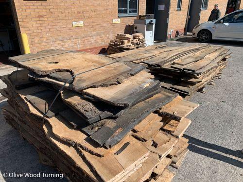 Plank - 1m x 21-26cm x 20mm
